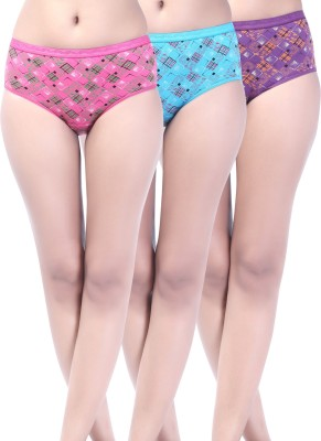 Softfeel SF 17 Women's Hipster Multicolor Panty