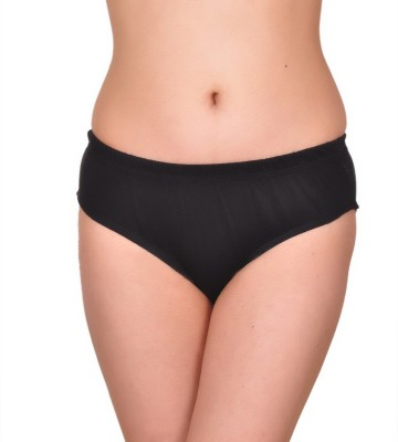 Sellsy Women's Hipster Black Panty