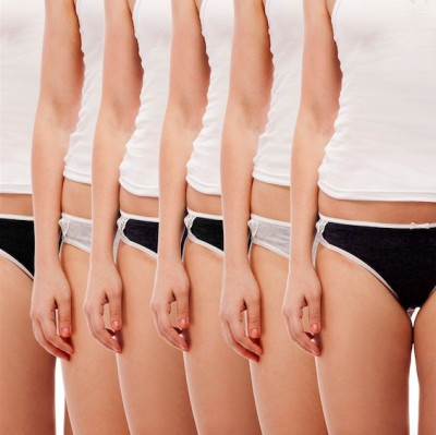 Jepp Cool Designer Value Pack Women's Bikini Black, Dark Blue, Grey Panty