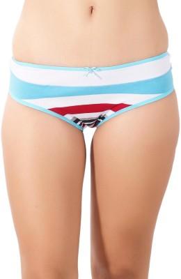 Shyle Women's Brief Blue, White Panty