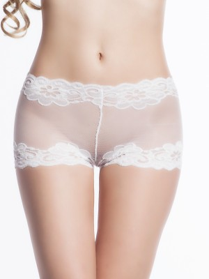 N-Gal Women's Brief White Panty