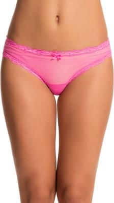 PrettySecrets Women's Bikini Pink Panty