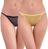 Pavvoin Women's Thong Multicolor Panty (...