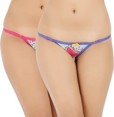 Vaishna Women's Bikini Pink, Purple Panty