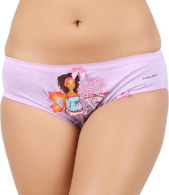Anusa Pur Women,s Brief Purple Panty