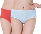 Pavvoin Women's Brief Red, Blue Panty (P...