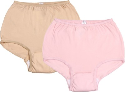 Ever Sures Reusable Medium Incontinence Women's Brief Pink, Beige Panty