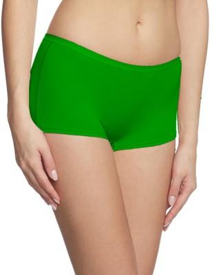 Fashion Line Women's Boy Short Dark Green Panty