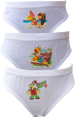 Lure Wear KIDSWHT03 Girl's Brief White Panty