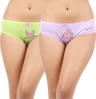 Avanthi Gnpu Women's Brief Purple, Green Panty