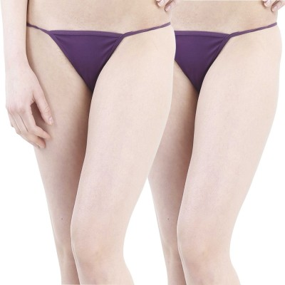 FIHA Women's G-string Purple Panty