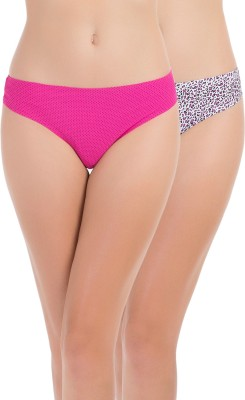 PrettySecrets Women's Thong Multicolor Panty(Pack of 2) at flipkart