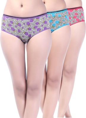 Softfeel Oasis Women's Hipster Multicolor Panty