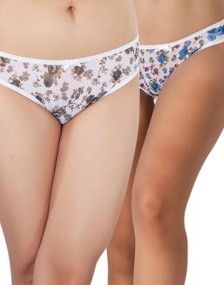 Shyle Women's Bikini Multicolor Panty