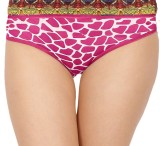 Madaam Women's Brief Pink Panty (Pack of...