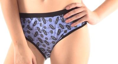 Inner Care 9020 Blue Women's Brief Blue Panty