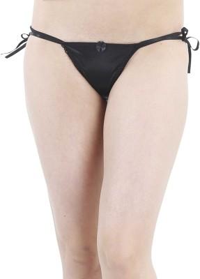 FIHA Women's Thong Black Panty
