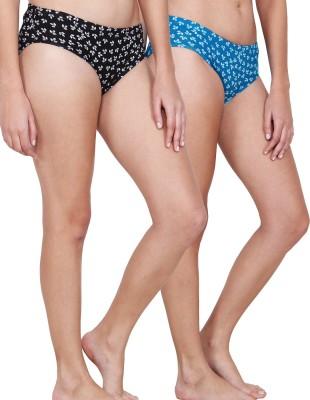 Inner Secrets Women's Bikini Multicolor Panty