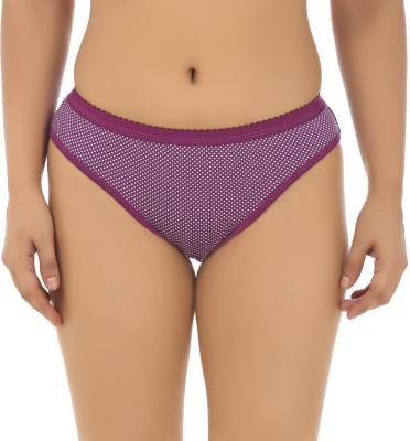 Gujarish Women's Hipster Purple Panty(Pack of 1) at flipkart