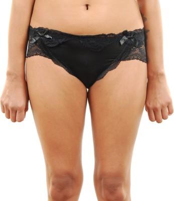 Felicity Design Women's Bikini Black Panty