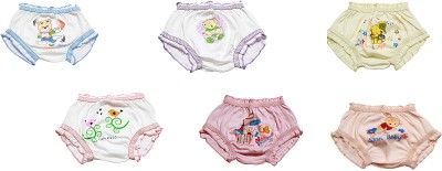 Ooh Lovely 9015-9025. Girl's Hipster Multicolor Panty