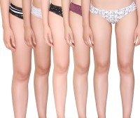 Vivity Assorted Women's Hipster Multicolor Panty(Pack of 5)