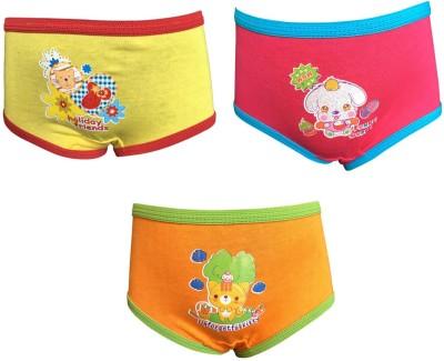 Lilsugar Girl's Hipster Orange, Yellow, Purple Panty