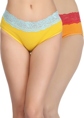 Clovia Women's Hipster Multicolor Panty(Pack of 1) at flipkart