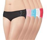 Love Women's Brief Multicolor Panty (Pac...