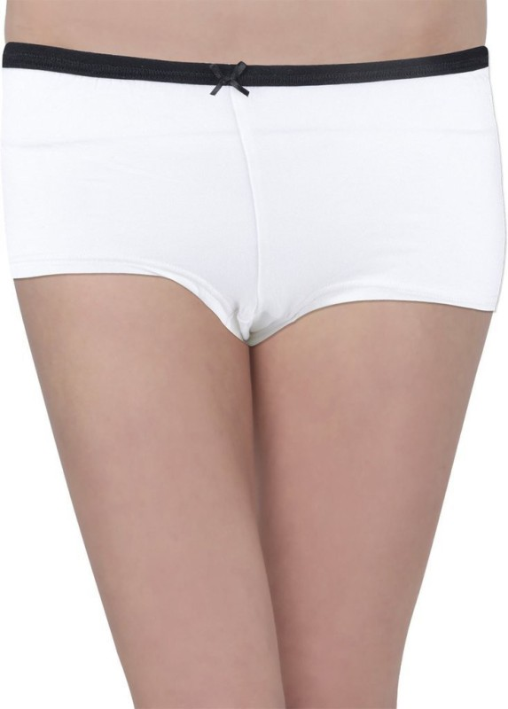 Hey It's Me Women's Brief White Panty(Pack of 1)