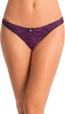 PrettySecrets Fashion Women's Bikini Purple Panty