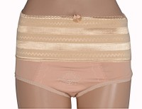 Lingerie - Fabme Tummy Controller Women's Brief Brown Panty(Pack of 1)