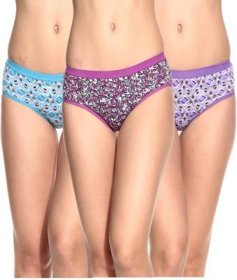 Ultrafit UL-P3001-2-3-4 Women's Brief Multicolor Panty
