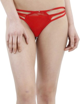TIMI Women,s Thong Red Panty