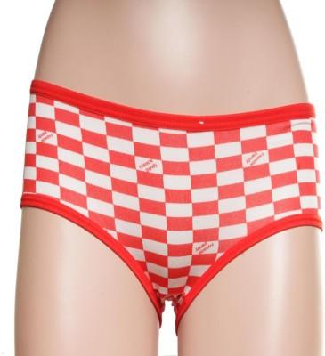 Feminin Girl's Hipster Red Panty