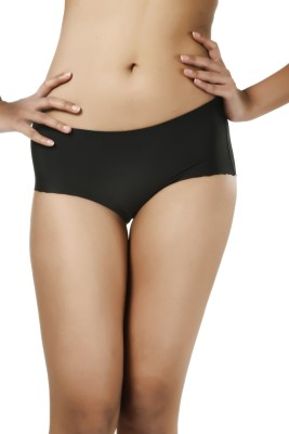 Deep Under Trace Less Women's Hipster Black Panty