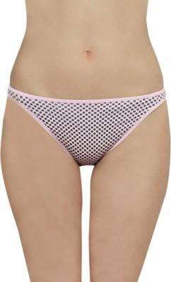 The Darling Trap Women's Bikini Pink, Grey Panty