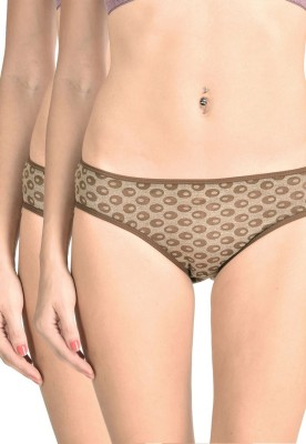 Lenora Women's Bikini Brown Panty