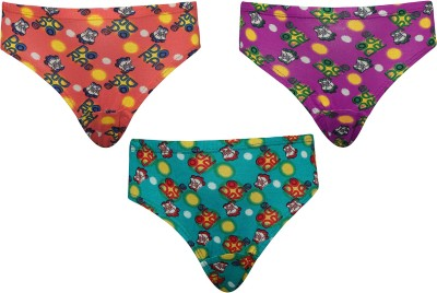 Red Rose Girl's Hipster Multicolor Panty