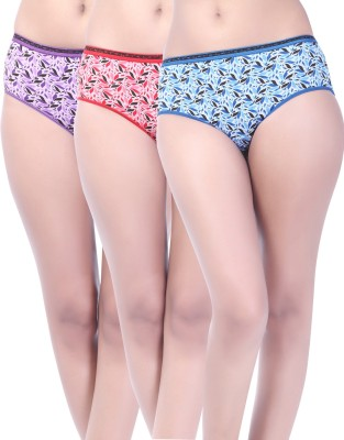Softfeel Sf 08 Women's Hipster Multicolor Panty