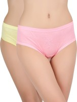 Vaishma Women's Brief Multicolor Panty(Pack of 2)