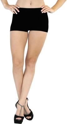Fashion Line Women's Boy Short Black Panty