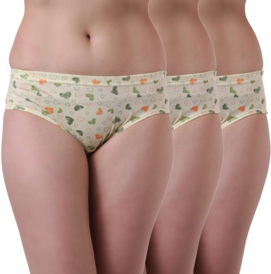 Tweens Women's Hipster Light Green Panty