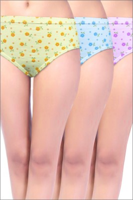 Bliss Women's Hipster Multicolor Panty