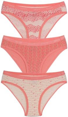 Amante Women's Bikini Pink Panty