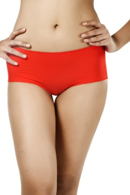 Deep Under Trace Less Women's Hipster Red Panty