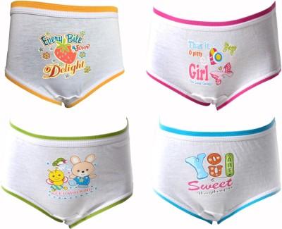 Lilsugar Girl's Hipster Orange, Blue, Green, Pink Panty