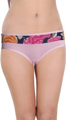Vloria Women's Hipster Pink Panty