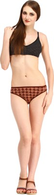 Styllia Women's Thong Brown Panty