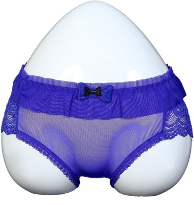 Q-Rious Women's Hipster Blue Panty
